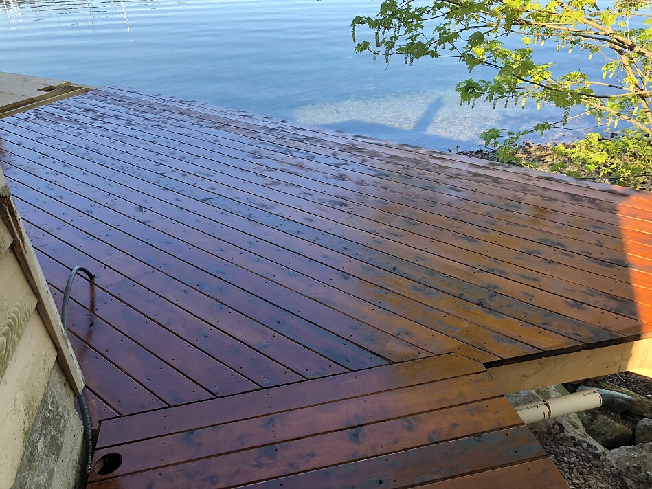 wooden decks and landscaping victoria cowichan valley gulf islands