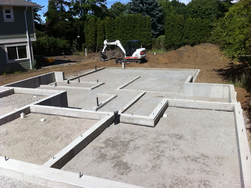 All out contracting custom fences decks patios for Basement foundations construction