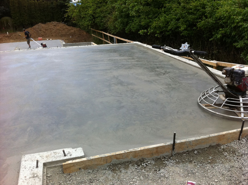basement construction salt spring island