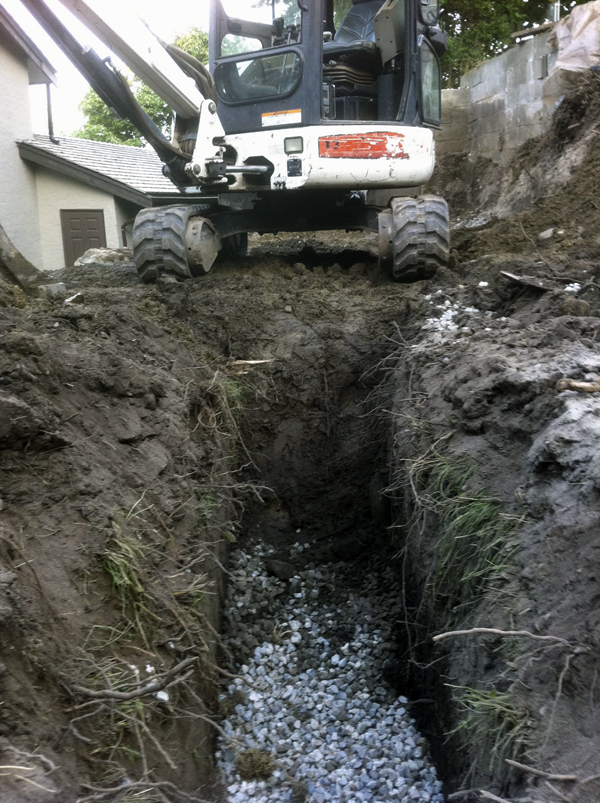 water drainage construction victoria cowichan valley