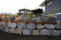 retaining wall victoria cowichan valley gulf islands