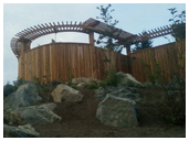 wooden patio and fence victoria cowichan valley gulf islands