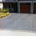 brick driveway construction victoria cowichan valley gulf islands