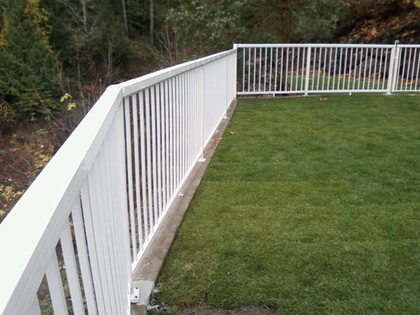 wooden deck and fence victoria cowichan valley gulf islands