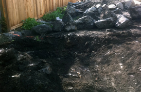 victoria retaining wall construction